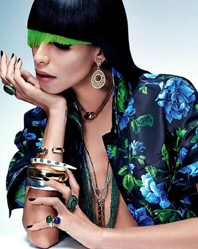 Fashnberry · April 3. Lea Tisci by Zee Nunes for Vogue Brasil April 2014